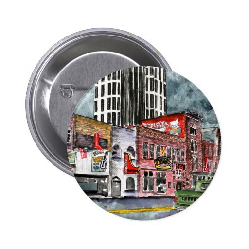 arte del capital de la música country de Nashville Pin