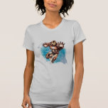 Arte del carácter de la acuarela del hombre del hi camisetas