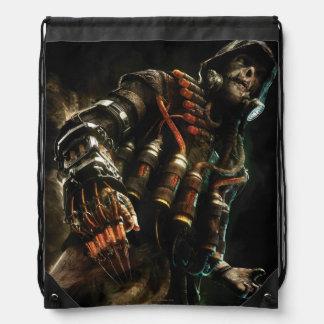 Arte del carácter del espantapájaros mochila
