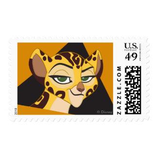 Arte del carácter del guardia el | Fuli del león Sello