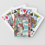 Arte del carrusel del perro de great dane del Harl Baraja Cartas De Poker