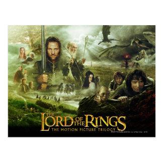Arte del cartel de película de LOTR Postal