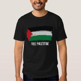Arte del cepillo de la bandera de Palestina - Camisas