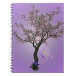 Arte del cerezo libro de apuntes