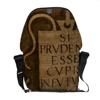 """Arte, """"del ciclo de las humanidades (fresco) bolsa de mensajeria"""