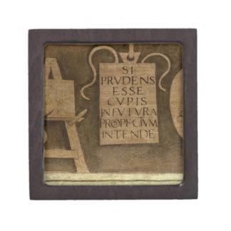 """Arte, """"del ciclo de las humanidades (fresco) caja de joyas de calidad"""