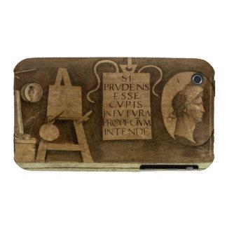 """Arte, """"del ciclo de las humanidades (fresco) Case-Mate iPhone 3 protector"""