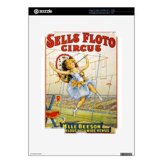 arte del circo calcomanías para el iPad 2