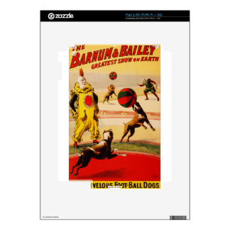arte del circo calcomanías para iPad 2