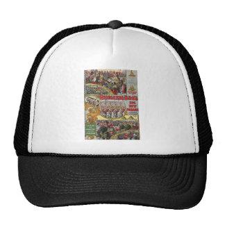 arte del circo gorras de camionero