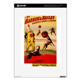 arte del circo iPad 3 pegatinas skins