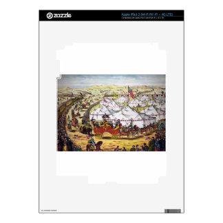 arte del circo iPad 3 skins