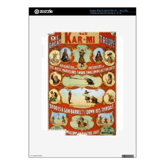 arte del circo pegatina skin para iPad 3