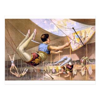 arte del circo postales