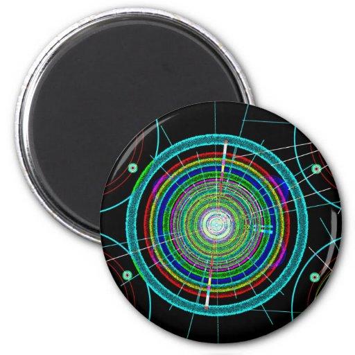 Arte del círculo iman