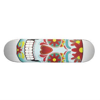 """Arte del cráneo del azúcar patineta 8 1/2"""""""