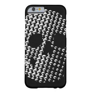 Arte del cráneo funda de iPhone 6 barely there