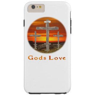 Arte del cristiano del Calvary Funda De iPhone 6 Plus Tough