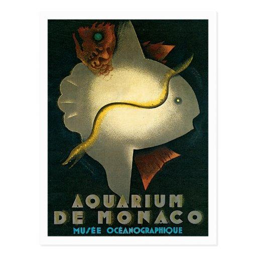 Arte del De Mónaco Musee Oceanographique del Tarjetas Postales