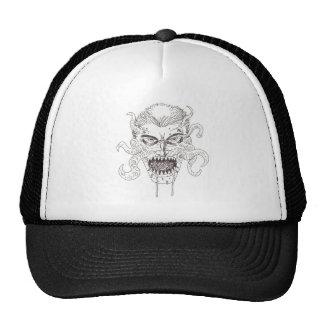 Arte del demonio gorras