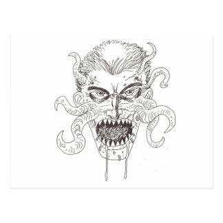 Arte del demonio postales