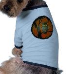Arte del dibujo animado del búho del vintage camisetas de mascota