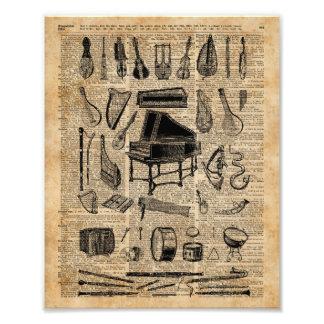 Arte del diccionario de los instrumentos de música cojinete