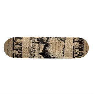 Arte del diccionario del campo del vintage de la patin personalizado
