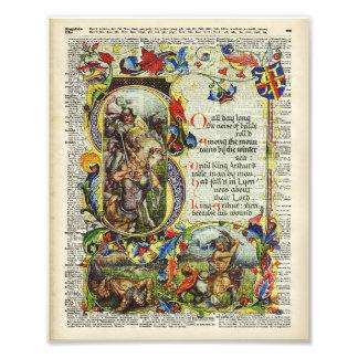 Arte del diccionario - libro de rey Arturo Story Cojinete
