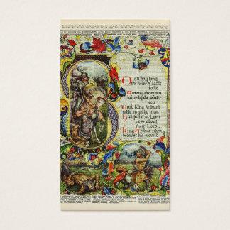 Arte del diccionario - libro de rey Arturo Story Tarjetas De Visita