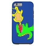 Arte del dinosaurio o del dragón por poco t + José Funda De iPhone 6 Tough
