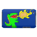 Arte del dinosaurio o del dragón por poco t + José Barely There iPod Carcasas