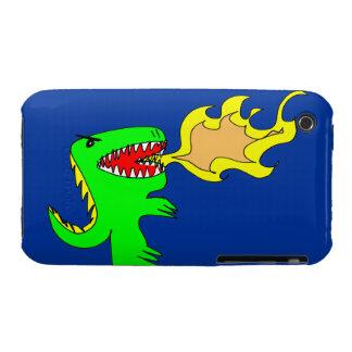 Arte del dinosaurio o del dragón por poco t + José iPhone 3 Case-Mate Fundas
