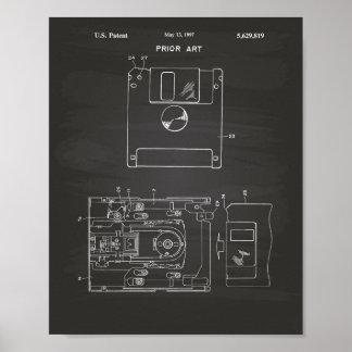Arte del disco blando de 1997 patentes - pizarra