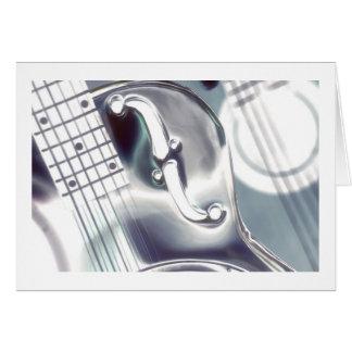Arte del Dobro, azul blanco de plata, artography, Tarjeta De Felicitación