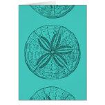 Arte del dólar de arena tarjetas