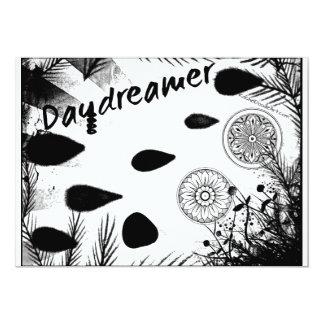 """Arte del Doodle de Raquel - Daydreamer Invitación 5"""" X 7"""""""