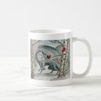 Arte del dragón, arte de la fantasía, señora del taza