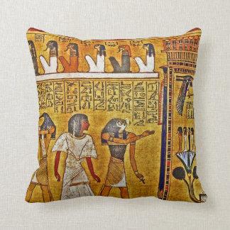 Arte del egipcio del oro cojines