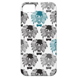 Arte del ejemplo del mono del babuino del iPhone 5 Case-Mate protectores