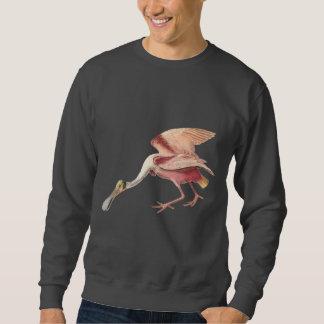 Arte del ejemplo del pájaro que vadea del pulóver sudadera