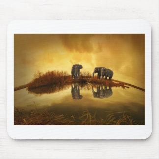 Arte del elefante tapetes de ratones