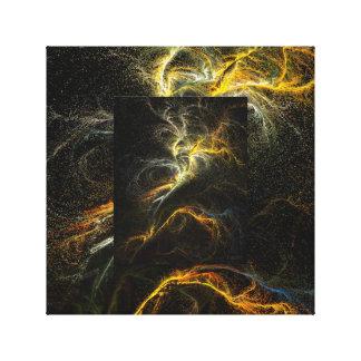 Arte del espacio, arte de Tacchi de la lona Impresiones En Lona