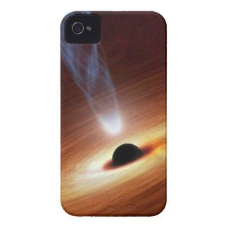 Arte del espacio de la astronomía del calabozo Case-Mate iPhone 4 cárcasas