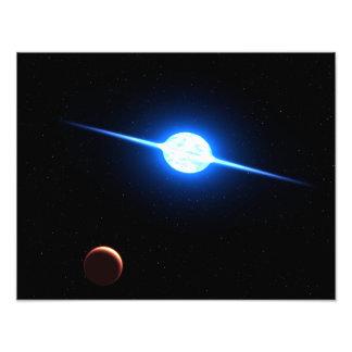 Arte del espacio de la NASA de la estrella VFTS 10 Foto