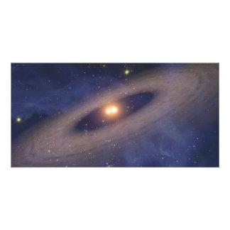 Arte del espacio de la Sistema Solar de la estrell Tarjetas Personales Con Fotos
