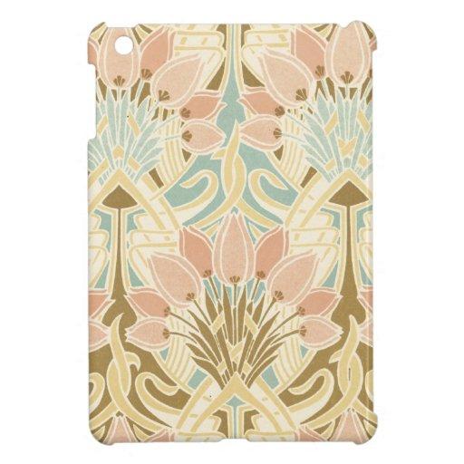 arte del estampado de flores de la naturaleza del  iPad mini protectores