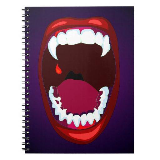 Arte del estilo del poster de los dientes del cuadernos