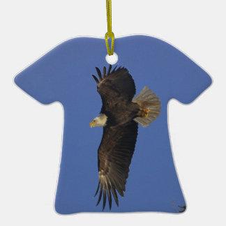 Arte del Fauna-partidario de Eagle calvo que vuela Ornato