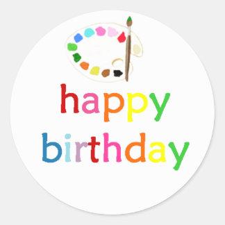 Arte del feliz cumpleaños/estudios de Bella Bella  Etiquetas